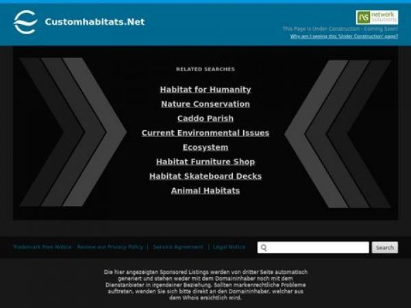 customhabitats.net