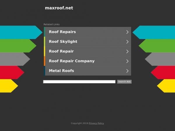 maxroof.net