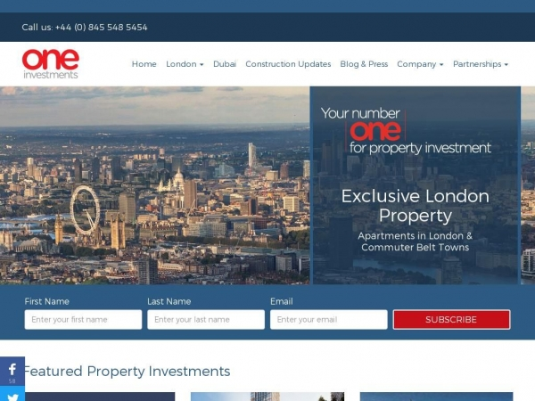 oneinvestments.co.uk