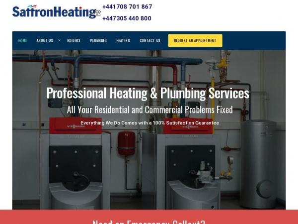 saffronheating.co.uk